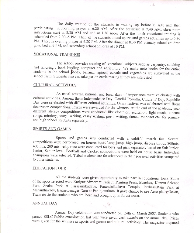 Vocational Training Project Proposal For Vocational Training